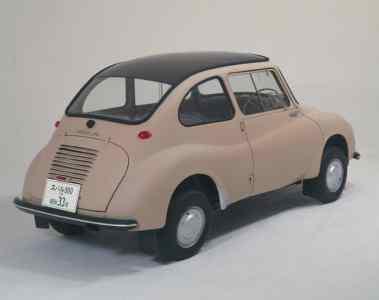 "Subaru 360 Model K111 als ""industrielles Kulturerbe"" Japans ausgezeichnet"
