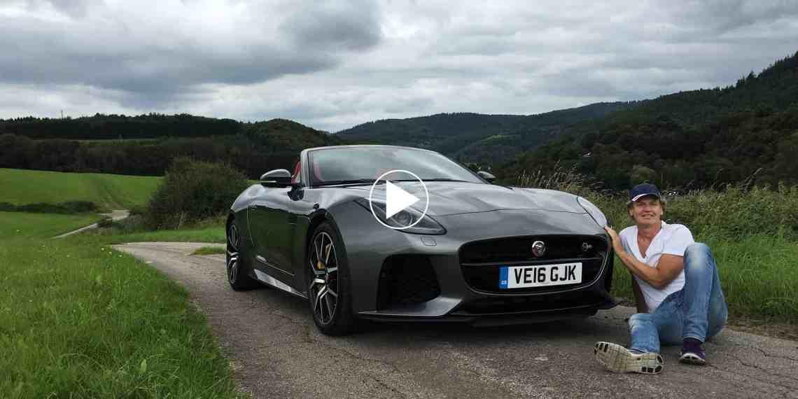 Pure Sound: Jaguar F Type SVR