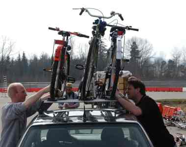 Fahrräder richtig und sicher transportieren