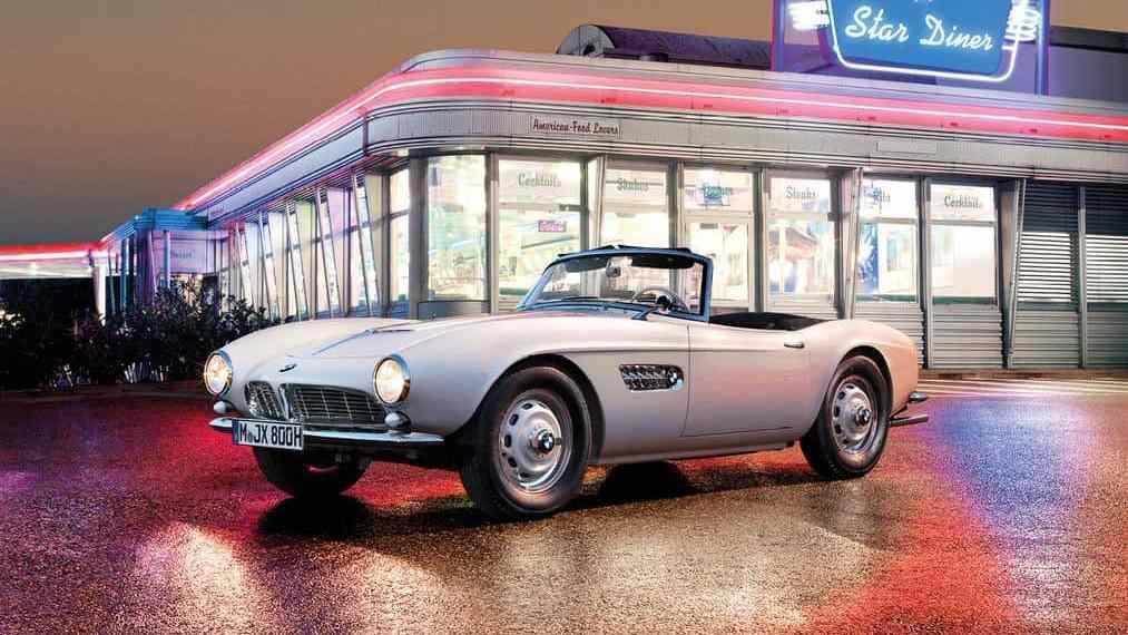BMW 507: Elvis Presley war sofort begeistert