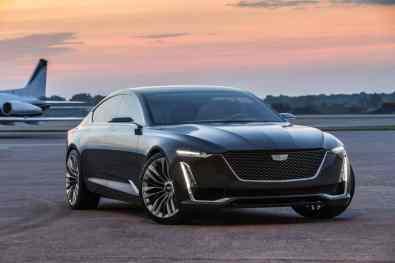 Cadillac Escala Concept Seitenansicht
