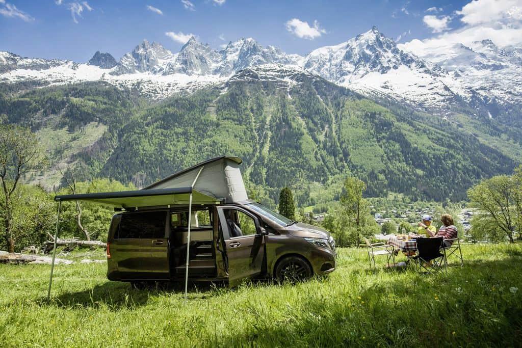 Campingbus: Mercedes-Benz Marco Polo.