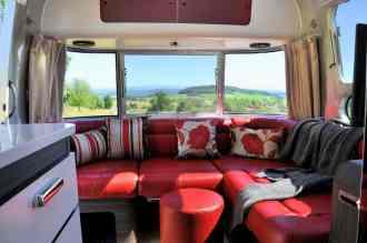 Airstream Sitzgruppe