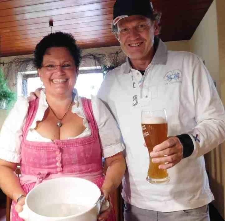 von links: Margot Leidmann und Friedbert Weizenecker