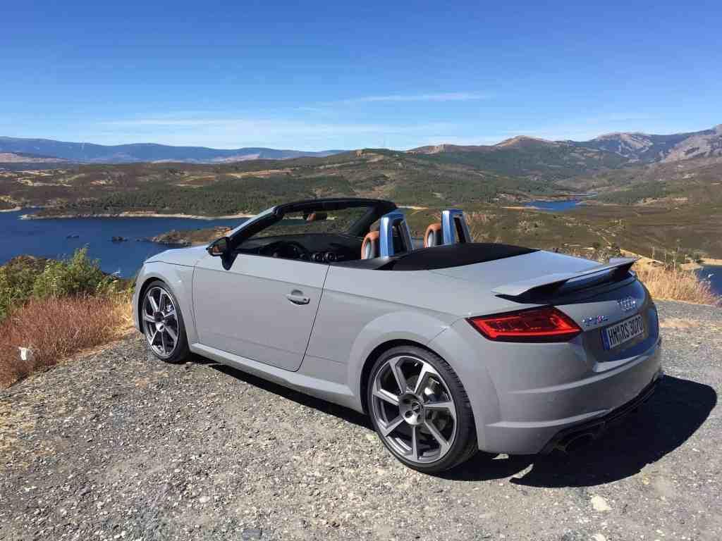 Audi TT RS Seitenansicht