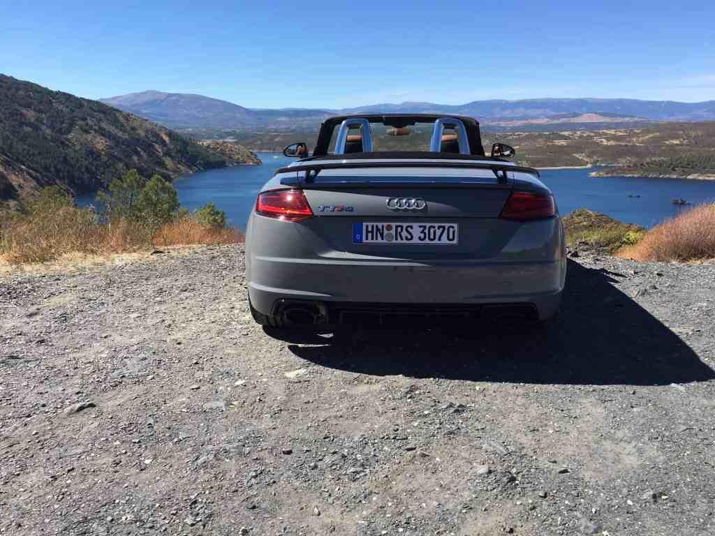 Audi TT RS Heck