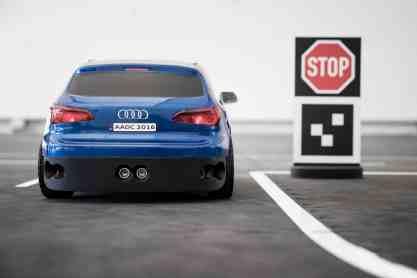 Audi RC Car to Car