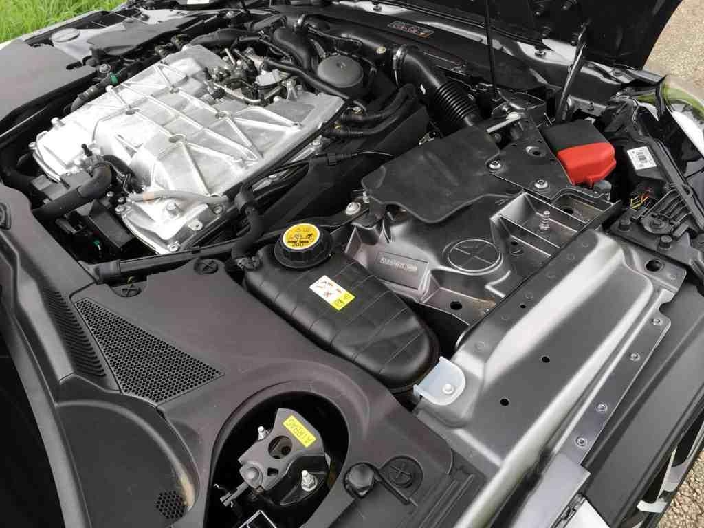 Jaguar F-Type SVR Motor