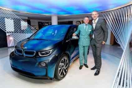 BMW i8 Garage Italia CrossFade. Adrian van Hooydonk und Lapo Elkann