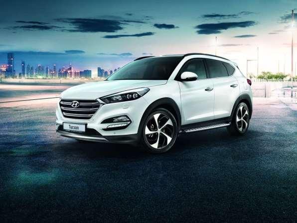"""Hyundai Tucson """"25 Jahre""""."""