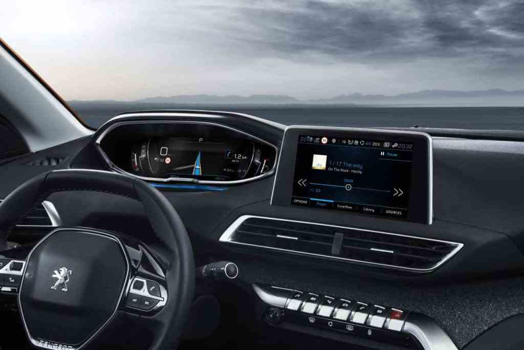 Peugeot 3008 Display