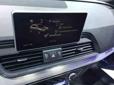 Audi Q5 Display
