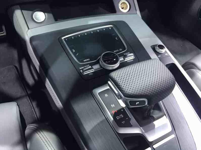 Audi Q5 Mittelkonsole