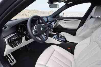 BMW 5er Limousine Innenraum