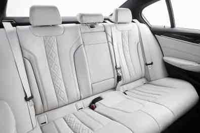 BMW 5er Limousine Rückbank