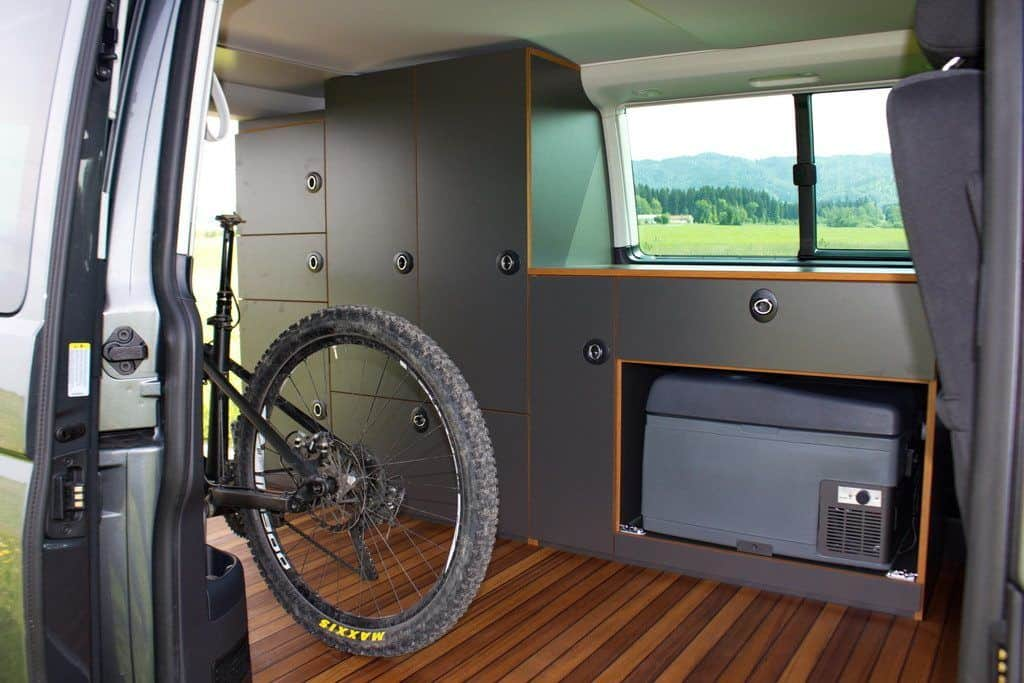 VW T6 Exploryx Bike & Sleep