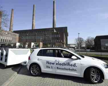 VW baut e-Golf ab April in Dresden