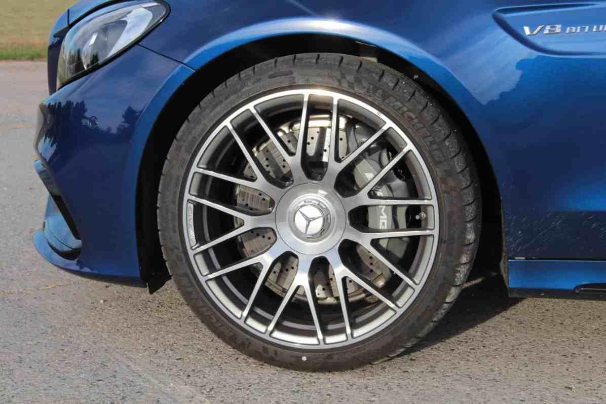 Mercedes C63 AMG Felge