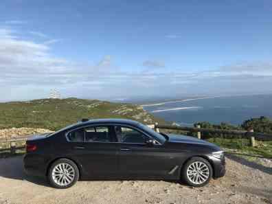 BMW 530d Seitensicht