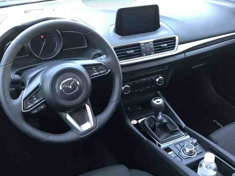 Mazda3 Cockpit