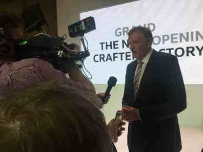 Andreas Renschler, Vorstandsmitglied der Volkswagen AG im Bereich Nutzfahrzeuge im Interview-Gespräch