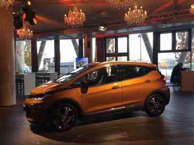 Opel Ampera-e Seitenansicht