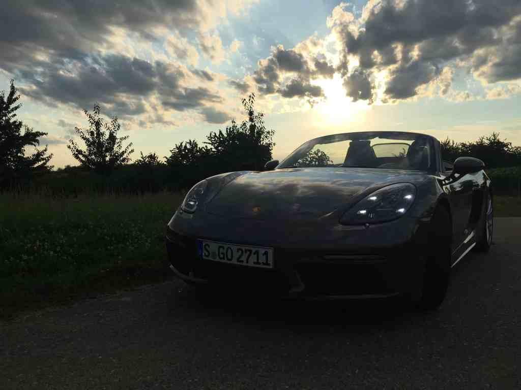 Porsche Boxster S - Front