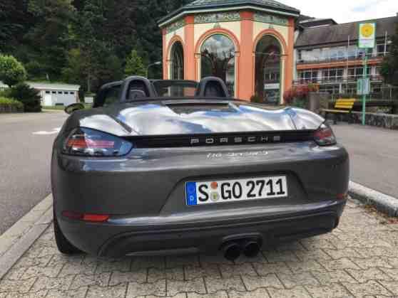 Porsche Boxster S Heck