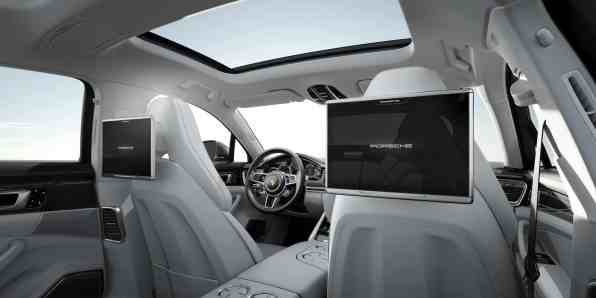 Interieur Panamera Turbo Executive