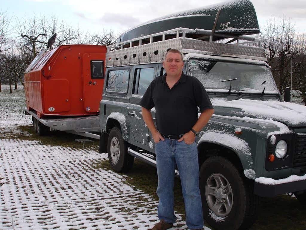 Land Rover Landcruiser 110 TDI mit LAK-Kabine