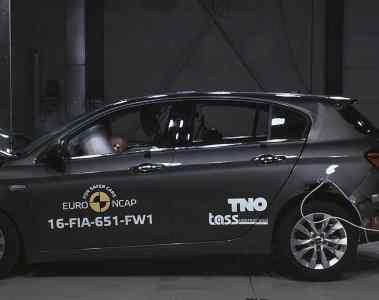 Euro-NCAP-Crashtest: Der Fiat Tipo schafft es nicht ganz