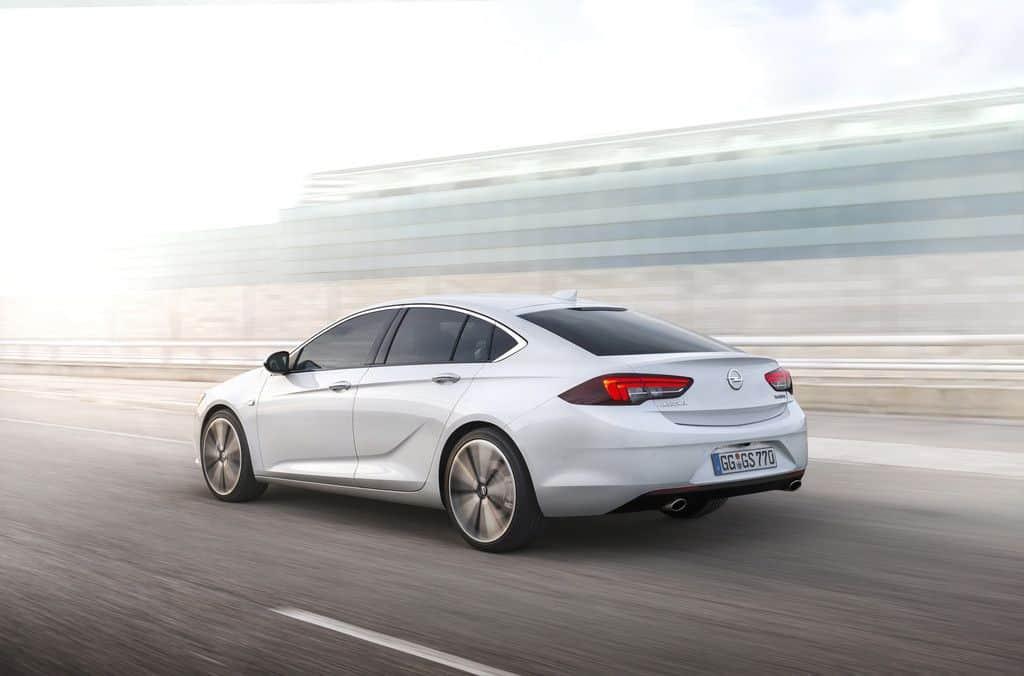 Opel Insignia Grand Sport Seitenansicht
