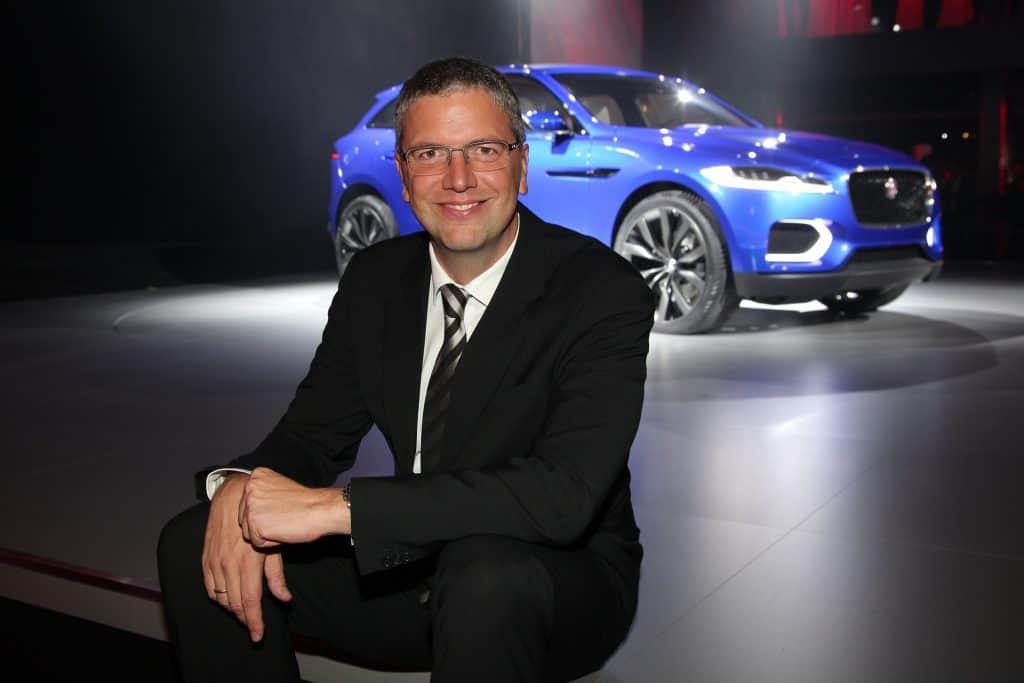 Peter Modelhart Geschaeftsfuehrer Jaguar, Land Rover Deutschland JAGUAR