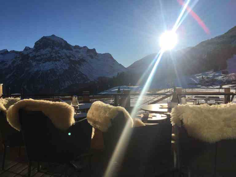 Auf nach Oberlech am Arlberg - Der Goldene Berg ruft