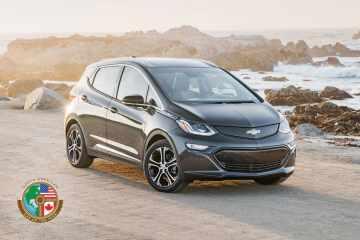 Chevrolet Bolt EV ist Amerikas Auto des Jahres