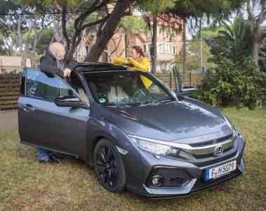 Der neue Honda Civic - Fünftürer mit Ecken und Kanten