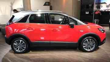 Opel Crossland X Seitenansicht
