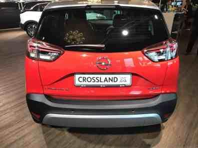 Opel Crossland X Heck