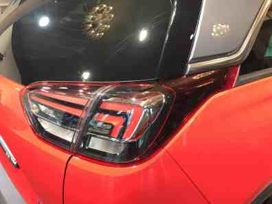 Opel Crossland X Rückleuchte