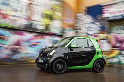 Smart Fortwo Cabrio Electric Drive Seitenansicht