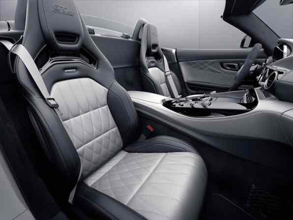 Mercedes-AMG GT C Roadsters Edition 50 Cockpit
