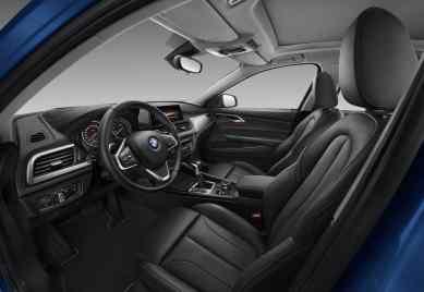 BMW 1er Limousine Innenraum