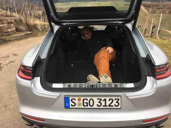 Porsche Panamera 4S Gepäckraum