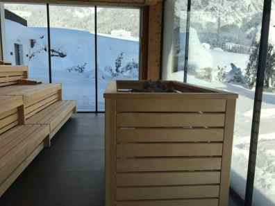 Sauna im Puradies in Leogang