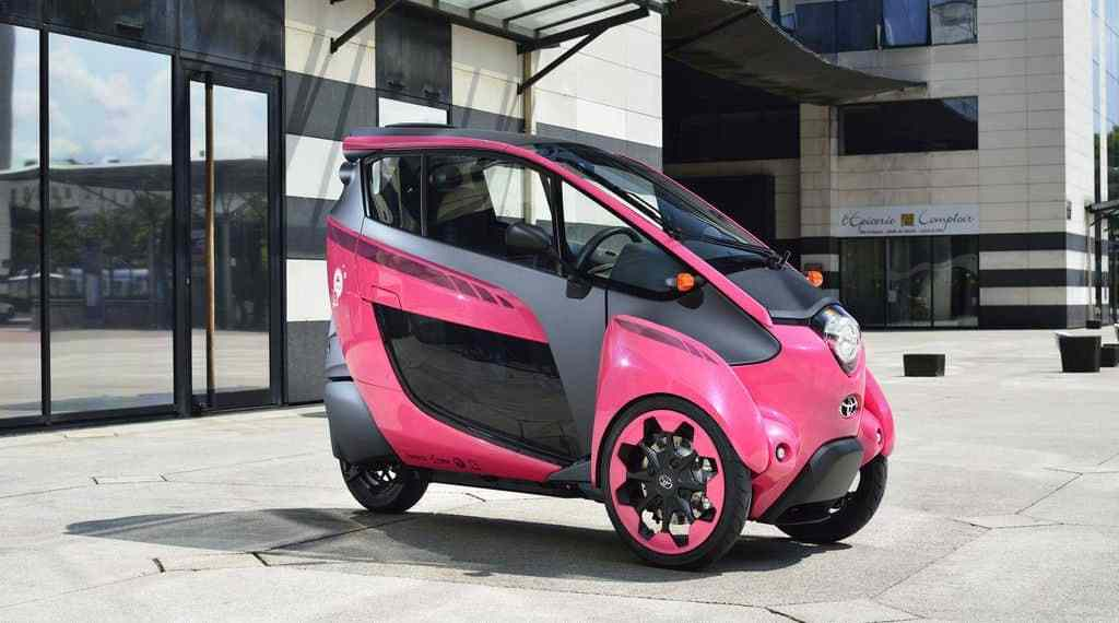 Toyota zeigt Mobilitätslösungen der Zukunft