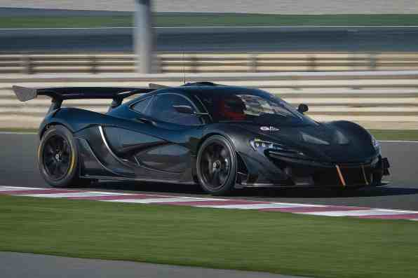 Rasanter Brite mit 1.000 PS: der McLaren P1 GTR.