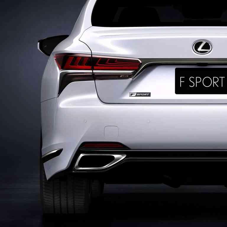 Weltpremiere für den Lexus LS F-Sport