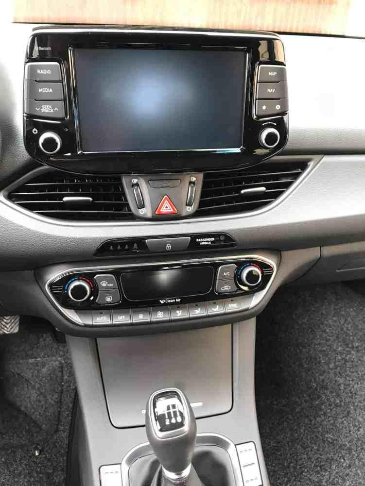 Hyundai i30 Mittelkonsole