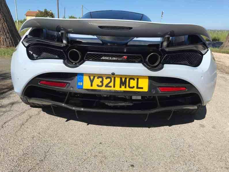 McLaren 720S Luxury Heckspoiler
