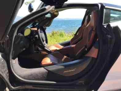 McLaren 720S Blick ins Fahrerhaus